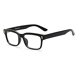 Cyxus Blaulichtfilter Computer Brille zur Blockierung von UV-Kopfschmerz [Anti Augen Belastung], Unisex (Herren/Damen)
