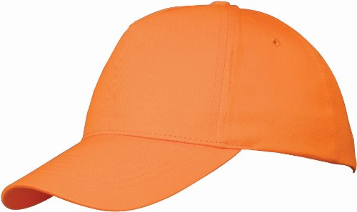 US Basic Kinder-Baseball-Mütze Gr. Einheitsgröße, Orange (Baseball-caps Orange)