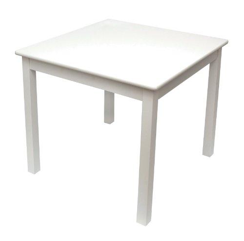 Lipper International 520W tavolino per Bambini, Bianco