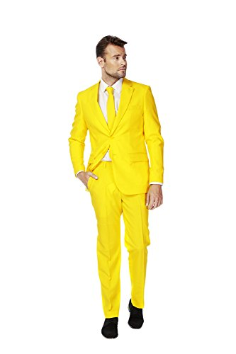 OppoSuits Yellow Fellow Suit Adult 46 by OPPOSUITS