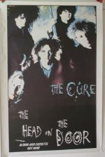 Cure Head-On-The Door 60 x 84 cm/Poster mostra