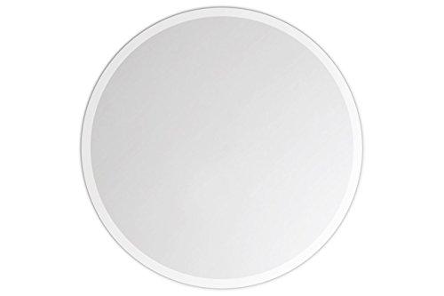 Lindner & Koch - runder Wandspiegel, 30cm Durchmesser, gefast, mit Wandhalterung