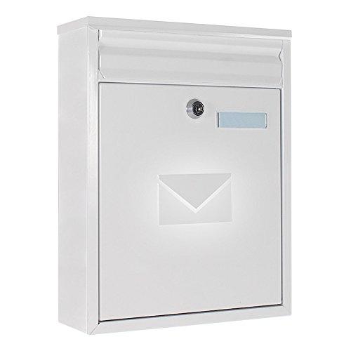 Preisvergleich Produktbild Home Design Mailbox HDM-300, weiß, 006501