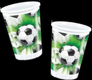 10 gobelets Foot Goal vert