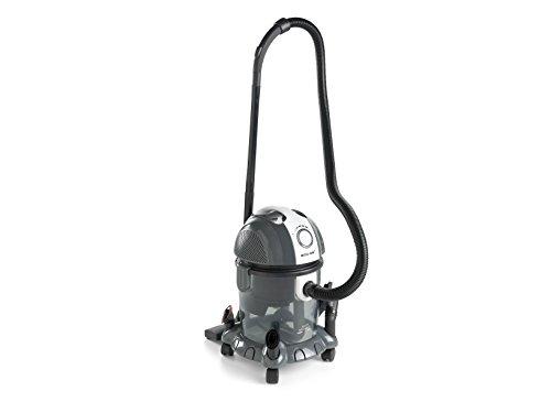 ECO-DE Aspirador de solidos y liquidos Blower Wet & Dry 1400 W, 15 litros, Filtro HEPA Lavable y Filtro de Agua. Funcion sopladora y regulador de Potencia.