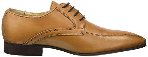 Pierre Cardin Lario, Chaussures de ville homme Marron (Crust Cuoio)
