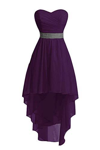 JAEDEN Hochzeitskleider Brautjungfer Kleid Ballkleid Abendkleid Chiffon Partykleid Cocktailkleid...