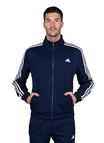 adidas Relax Survêtement Homme, Collegiate Navy, Blanc, FR : XL (Taille Fabricant : 9)