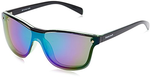 Fastrack Sundowner UV Protected Wrap-Around Unisex Sunglasses - (P340BU1|60|Multicolored lens)