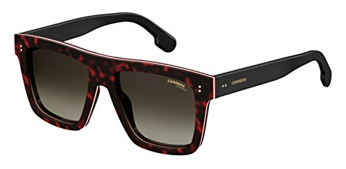 Carrera Gradient Square Unisex Sunglasses - (CARRERA 1010/S 086 55HA|55|Grey Color) image