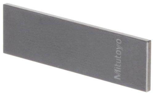 Mitutoyo 612105-531Gauge Block, individuelle Zoll Wear, rechteckig, American Society Of Mechanical Engineers Grade 0, Wolframcarbid, 0,1cm Nenngröße -