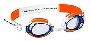 Flipper Swimsafe 1035 - Gafas de natación para niños a Partir de 12 Meses, Ajustables, con protección UV y antivaho, Incluye Funda para Gafas