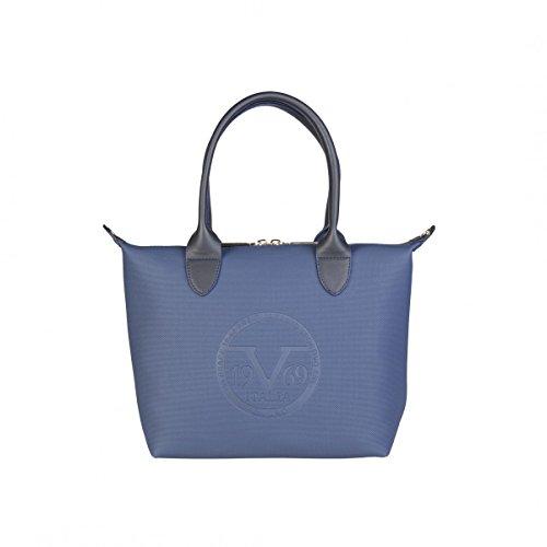 19V69 , Damen Handgelenkstasche Blau marineblau NOSIZE