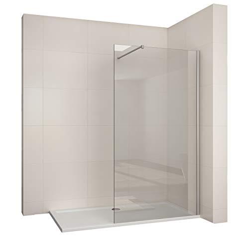Walk In Dusche Duschabtrennung Duschwand Duschkabine aus Sicherheitsglas