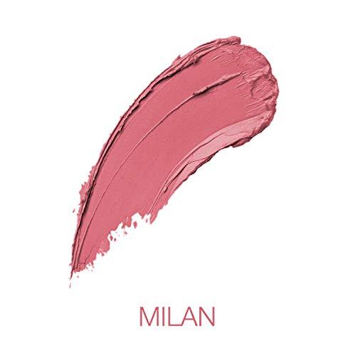 NYX Professional Makeup Soft Matte Lip Cream Rossetto, Finish Matte e Cremoso, Colore Extra-Pigmentato, Long Lasting, Tonalità Milan