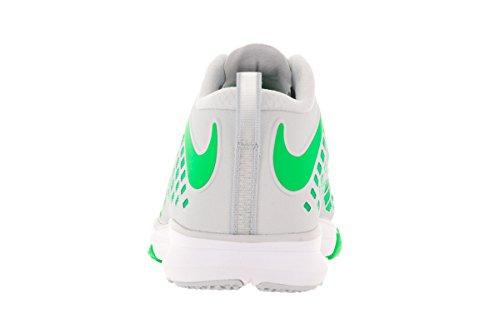 Nike Train Quick, Chaussures de Randonnée Homme Plateado (Pure Platinum / Rage Green-Black)