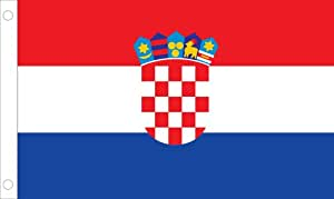 Allied Flagge Outdoor Nylon Kroatien United Nation Flagge, 5 by 8-'