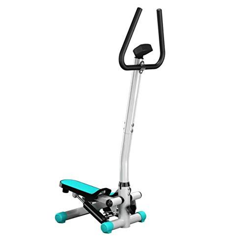 Baianju Leise Fußmaschine Haushalts-Armlehnen-Fußmaschine Zwei-Wege-Sportfußmaschine Indoor-Fitnessgeräte Twisted-Slimming-Maschine Klettermaschine