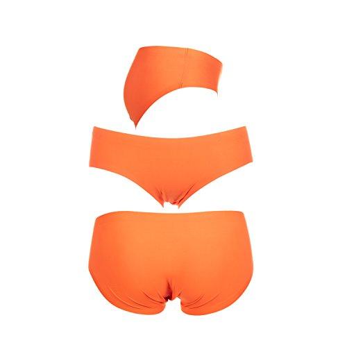 M-Mala Damen Unterhose Panties Hipsters Slips Strings Tangas Nahtlos Seamless Spitze 2011 Mix 3er Pack