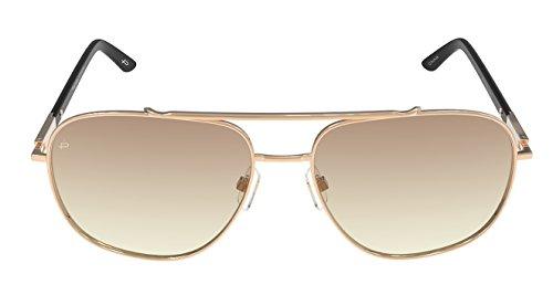 PRIVÉ REVAUX Mann Designer polarisierte Pilotenbrille Einheitsgröße Gold-braun