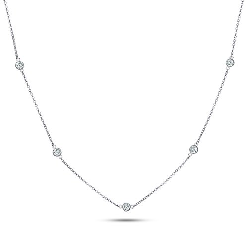 22-925-sterling-silver-cz-by-the-yard-round-cut-cubic-zirconia-chain-necklace