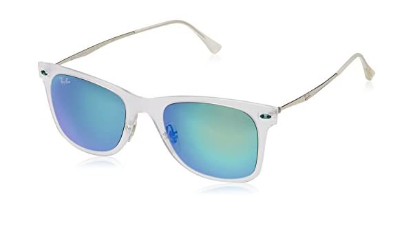 e7576f6c9a17 Ray-Ban Aviator Sunglasses (Transparent) (RB4211|646/55|56): Amazon.in:  Clothing & Accessories
