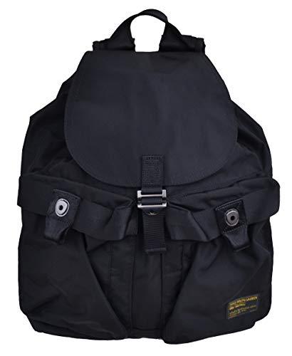 Ralph Lauren Rucksack Military Backpack Schwarz Black