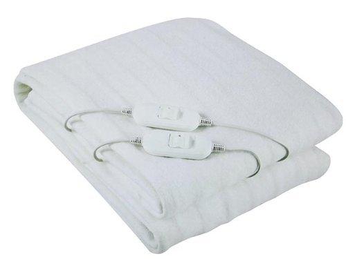 Manta electrica doble calienta cama calentador eletrico 160x140cm doble mando