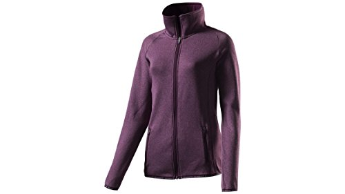 ENERGETICS Damen Jacke Funda Kapuzenpullover RED WINE