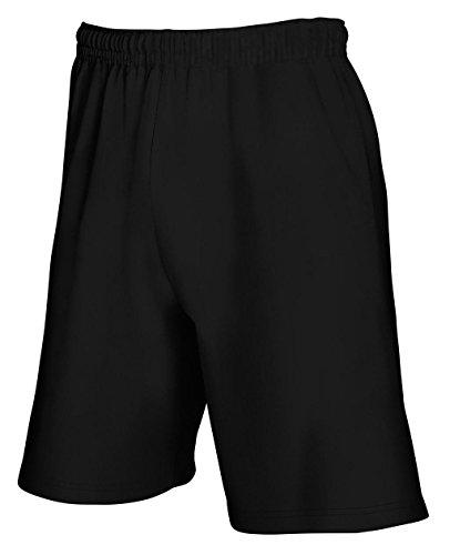 Fruit of the Loom Herren Lightweight Shorts Black