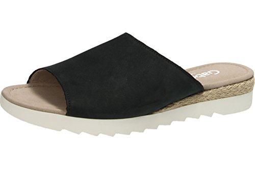 Gabor 62-740-46 Rhodos G, Mules pour Femme Bleu