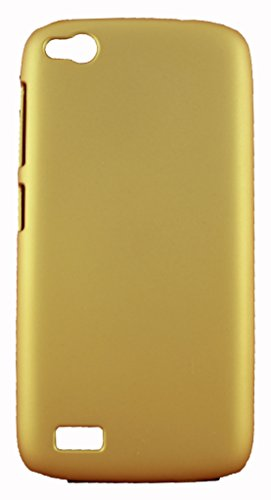 FCS Premium Rubberised Hard Back Case Cover For Gionee Elife E3 In Matte Finish (Golden)  available at amazon for Rs.155