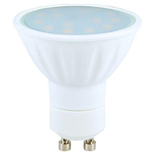 Heitronic LED Leuchtmittel GU10, 15 SMD LED, 5W, warmweiß EEK: A+