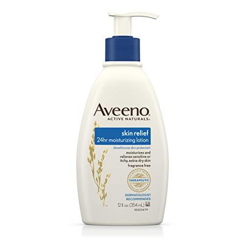 Aveeno Aveeno Active Naturals Skin Relief Moisturizing Lotion Fragrance Free, 12 oz