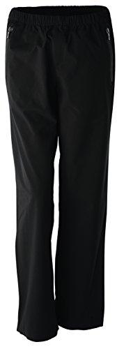 Wilson Regenanzug Hose für Golferinnen, Performance Trousers, Polyester, schwarz, Gr. L, WGA700283 Performance Golf Hosen