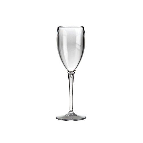 Flûte à Champagne Flûte à Champagne Tulipe Verre à Gobelet Verre à Vin Blanc Verre à Vin Réutilisable Verre Plastique Transparent Plastique Verre Camping Ensemble Extérieur 6 Pièces par DoimoFlair
