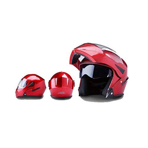 Preisvergleich Produktbild Helm Motorrad,  männer - elektrischen lokomotiven,  Weibliche Anti - Fog,  Four Seasons,  Doppel - Spiegel,  g
