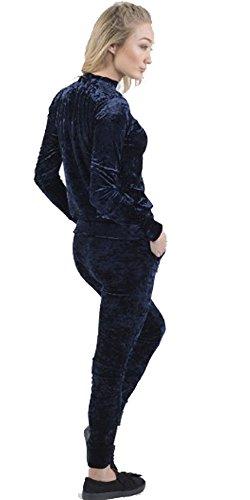 Home ware outlet - Survêtement - Manches Longues - Femme noir * taille unique Bleu Marine