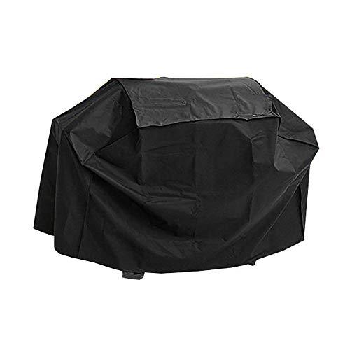 YXX- Couvertures de meubles Couvertures imperméables noires, ensemble de meubles de patio, couverture protectrice de table et de chaise, tissu de 210D Oxford, antipoussière (taille : 100x60x150cm)