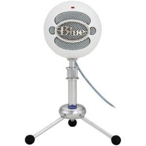 Blue Mikrofone 2100Snowball ICE–Mikrofone (PC, Cardioid Mikrofon mit Draht, weiß, USB) (Blue Snowball Ice)