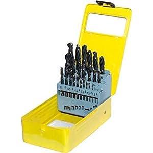25 Stücke: Spiralbohrer Set Säge Set Hss Stahl Titan Beschichtet Bohrer Holzbearbeitung Holz Werkzeug