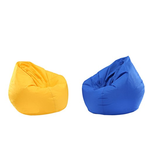 Sharplace 2 Pcs Bean Bag Covers Decor de Casa Duradero Resistente A Ag