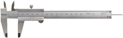 Mitutoyo 530-102 Standard-Nonius Messschieber, 0-150 mm