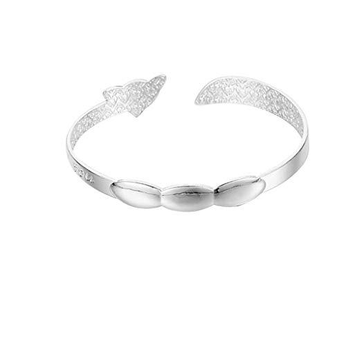 UINGKID Damen-Armband Armreif Mode neun Transfer Perlen Armband Silber überzogene Freundin Mutter Geschenk - Transfer Bermuda