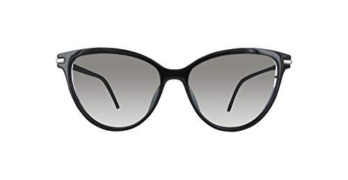 Marc Jacobs Damen MARC 47/S GY D28 53 Sonnenbrille, Shiny Black/Gry Grn Slvsp G,