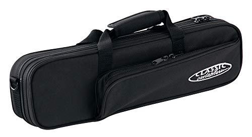 Classic Cantabile Leichtkoffer für Querflöte (Querflöte Koffer, Lightcase, Softcase,  reiß- und wasserfestes Außengewebe, hochwertige Thermopolsterung, Außenmaße: 40 x 12 x 9 cm)