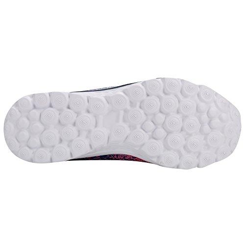 Alexis Leroy Knit Sport Damen Walkingschuhe Sneakers Rot