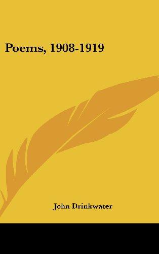 Poems, 1908-1919