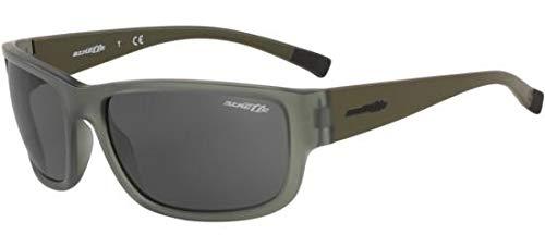 Ray-ban 0an4256 occhiali da sole, marrone (matte green), 62.0 uomo