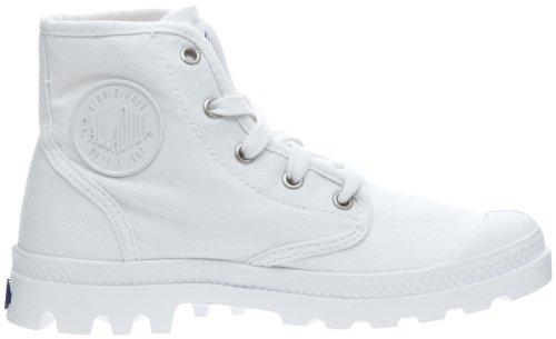 Palladium Us Pampa, Boots femme Blanc (420/White)